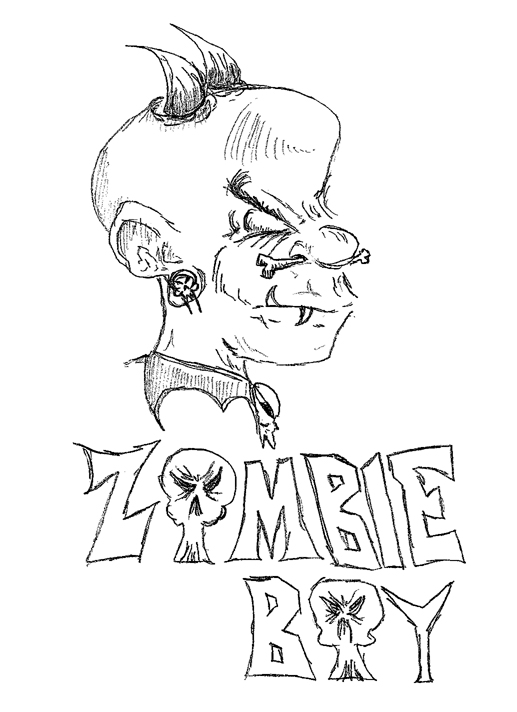 Zombie Boy by James Alvarez