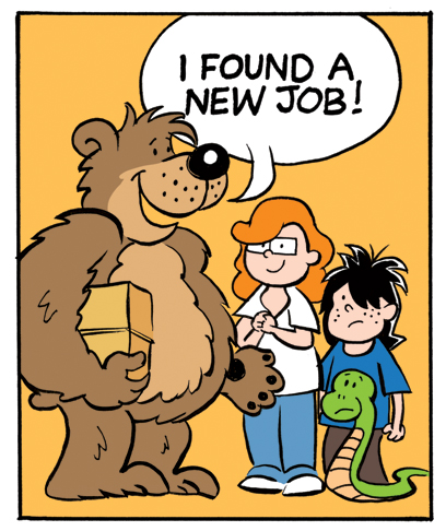 Click image above to see my Flatt Bear guest comic strip