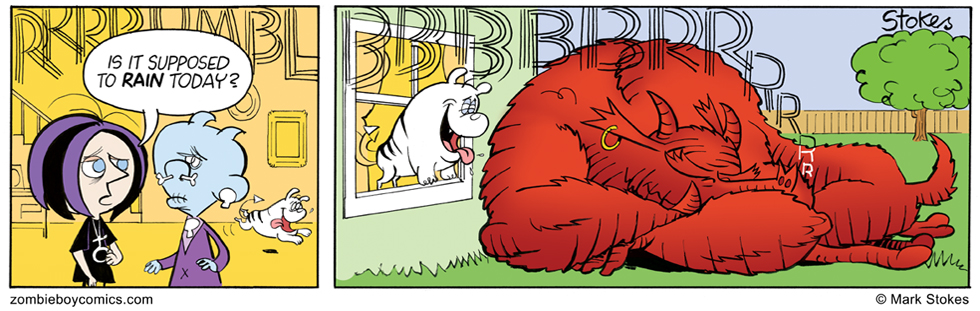 Big Red Snoozer