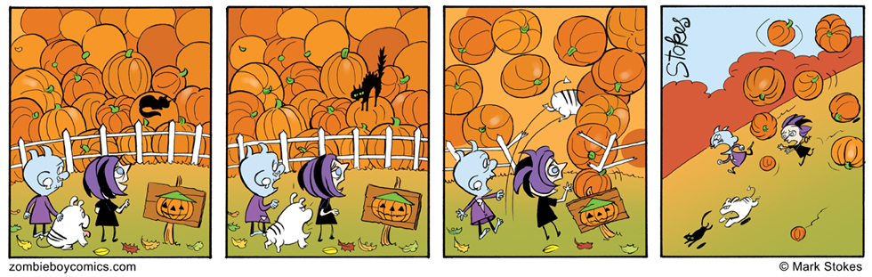 Incident at the Pumpkin Patch