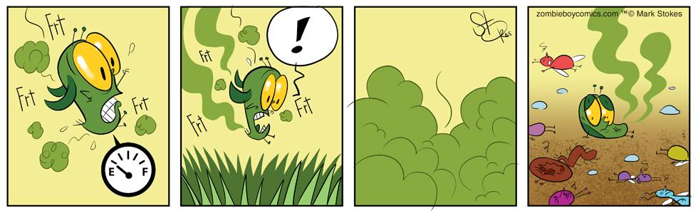 Stink Bug Down!