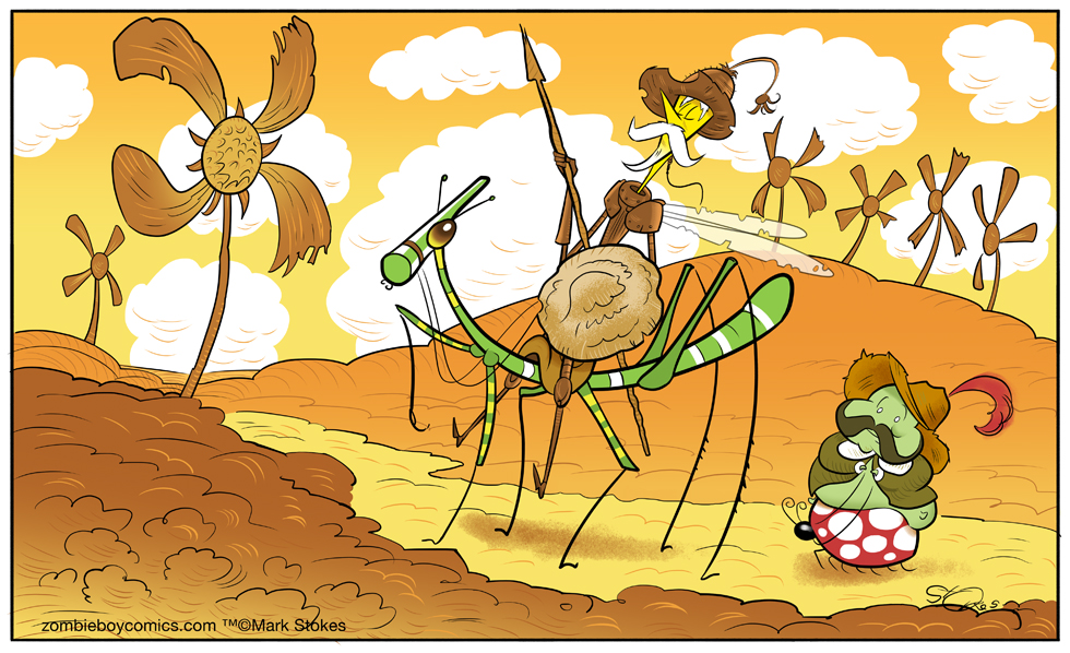 Bug of La Mancha